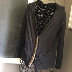 Cardigan with Bead Detailing